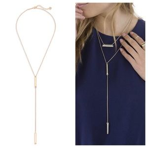 Kendra Scott 'Shelton' Necklace in ROSE GOLD